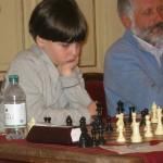 L'11enne Nicolò Orfini classificatosi secondo nel Torneo B