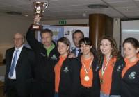 La squadra campionessa italiana femminile.