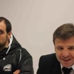 Capitano e allenatore delle Zebre. Foto SPQeR.