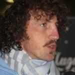 Mauro Bergamasco intervistato nel dopo partita. Foto SPQeR.