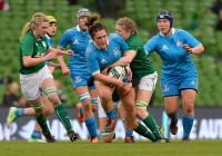 Rbs sei nazioni femminile 2014: Irlanda v Italia