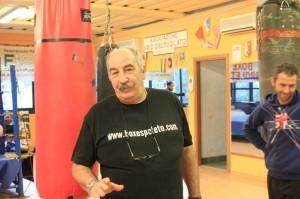 Il Maestro Benemerito Gianni Burli. Foto FISP.