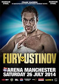 Sarà Ustinov ad affrontare Fury.