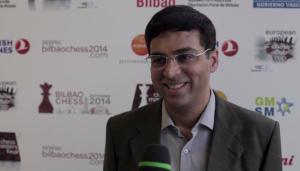 Anand recente vincitore del Master di Bilbao appare nella migliore forma da lui mostrata negli ultimi anni.