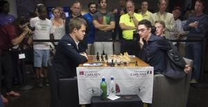 L'ultima uscita pubblica di Carlsen risale ai primi di settembre: a Saint Louis si é classificato secondo dietro a Fabiano Caruana.