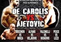 Giovanni De Carolis vs Geard Ajetovic - 1 Nov 2014 - Poster