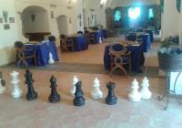 La sala di gioco: un posto tranquillo ed aperto al pubblico.