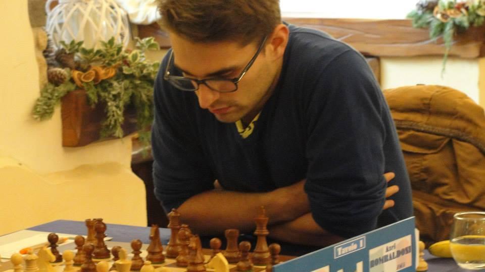 Axel Rombaldoni a un passo dal titolo italiano.
