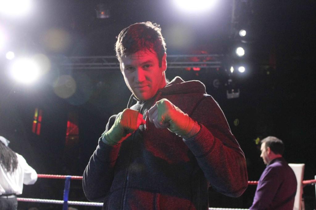 Karl é parso meno reattivo sul ring rispetto a quando ha battuto Giuseppe Grasso lo scorso mese a Berlino.