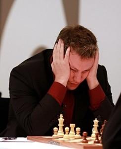 Arkadij Naiditsch, secondo dopo 5 partite di spareggio.