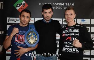 Conf. stampa 26 feb 2015-Michele Di Rocco,Alessandro Cherchi e Kasper Bruun