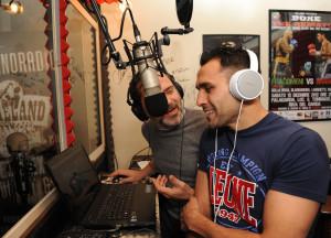 Michele Di Rocco a Dixieland Radio. Foto di Marco Chiesa.