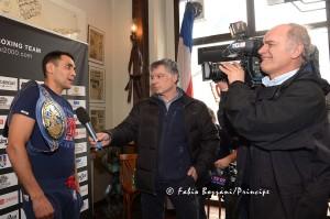 Michele Di Rocco intervistato da Mediaset.