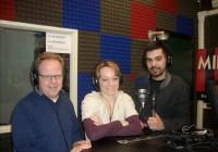 Beppe Vigani, Silvia La Notte e Alessandro Cherchi.