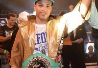 GIACON vs JAMOYE CAMPIONATO MONDIALE SILVER WBC BOXE