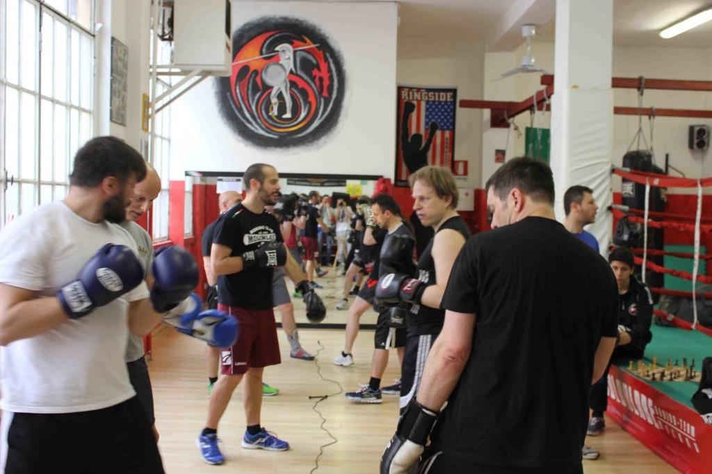 Allenamento congiunto tra atleti FISP, britannici e finlandesi.