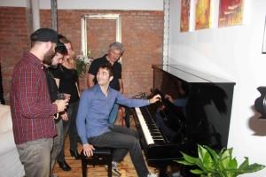 Renato De Donato al piano. Fotografie di SPQeR.
