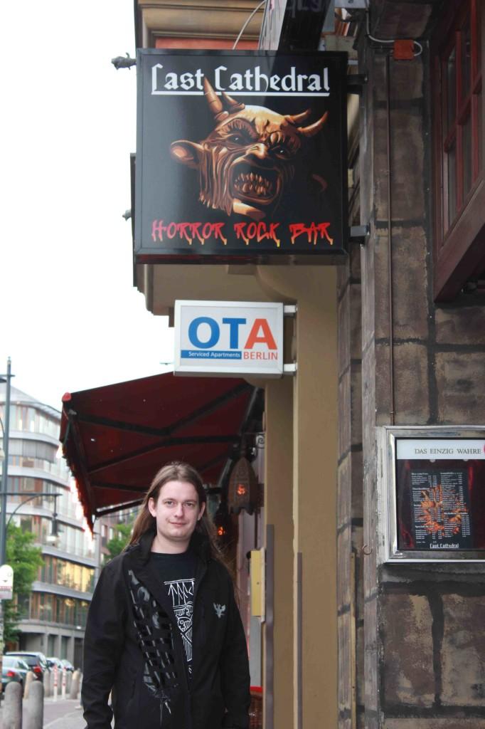 Un locale rock per un amante del black rock!