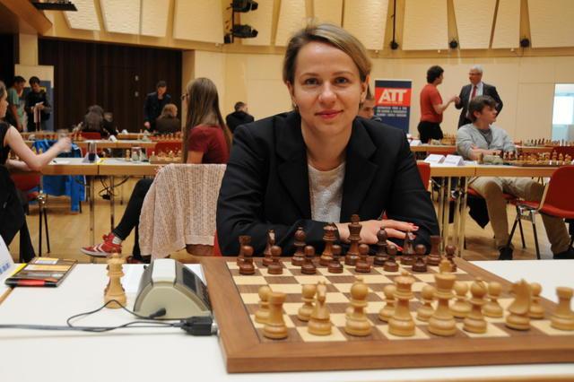 Olga Zimina, la prima scacchiera azzurra. Foto dal sito ufficiale.