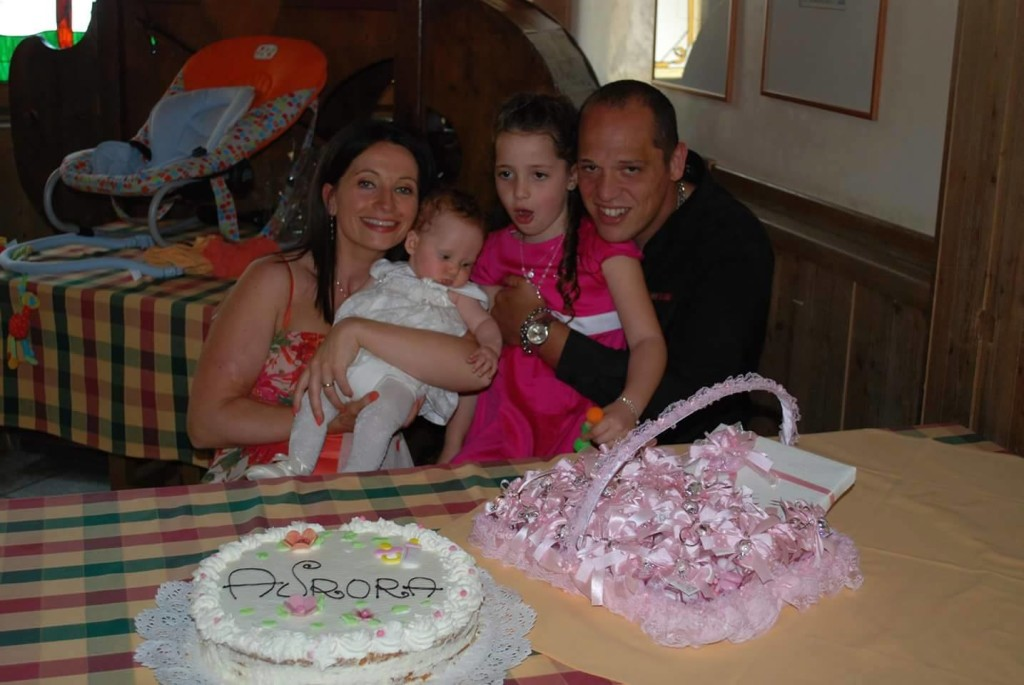 Sergio e la sua famiglia.