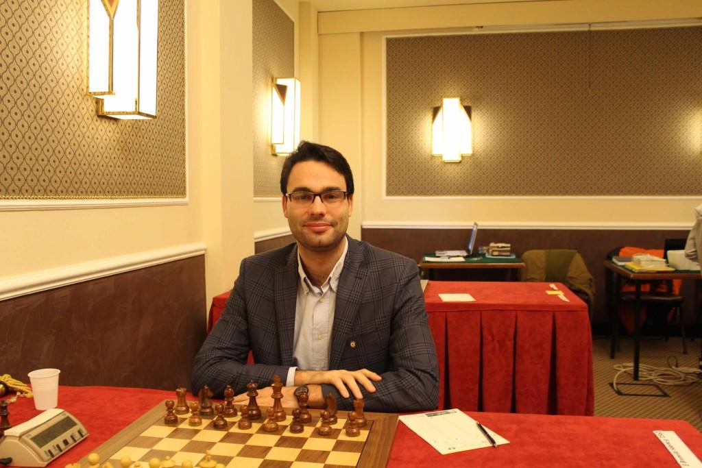 Sabino Brunello, sconfitto, perde la vetta della classifica provvisoria.