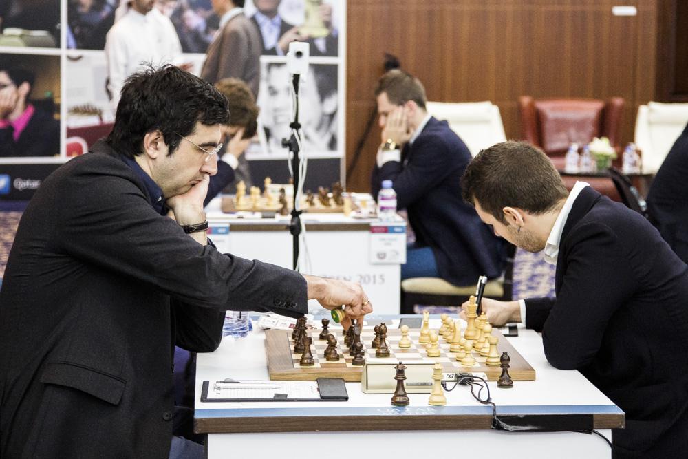 Daniele Vocaturo - Vladimir Kramnik.