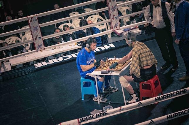 Vladimir Makarov vs Giulio Sanfelice. Foto di SPQeR.