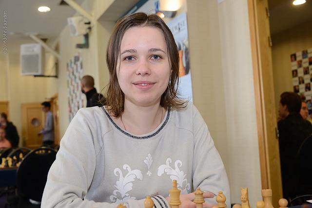 Mariya Muzychuk vincitrice del premio per la prima donna.