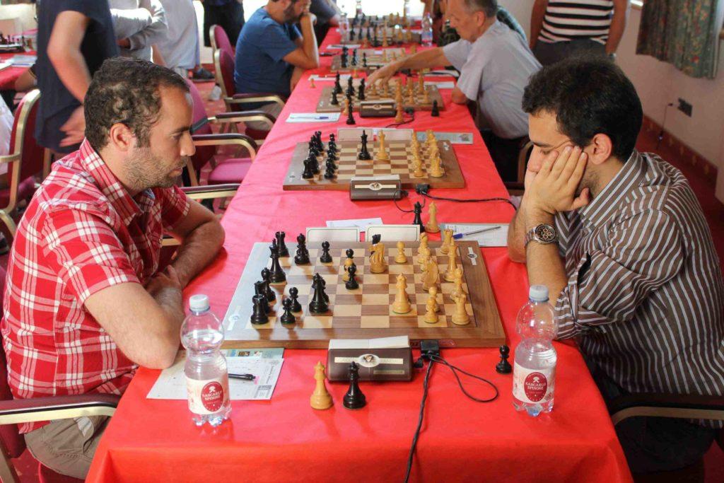 Aghayev si e' giocato la norma all'ultimo turno contro il GM Antal.