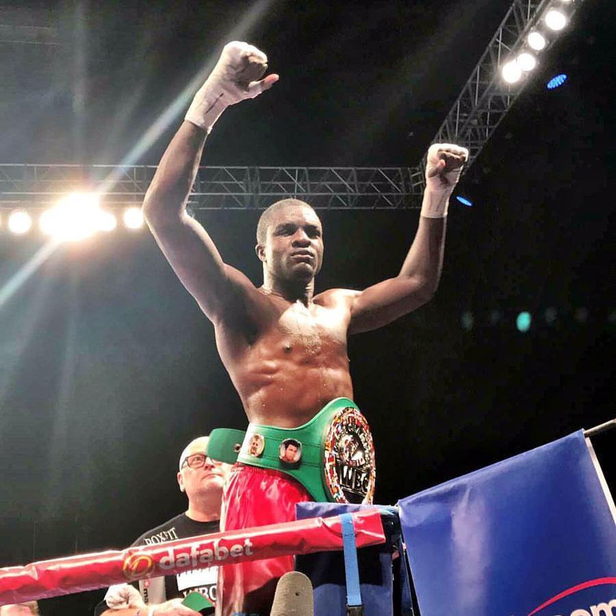 Ohara vincitore della cintura Silver WBC.