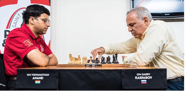 Anand vs Kasparov 2017
