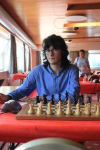 Il GM Nikita Petrov. Foto di SPQeR.