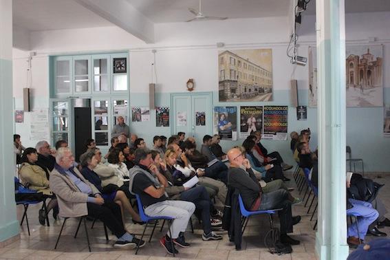 Molto il pubblico in sala che ha seguito la conferenza.