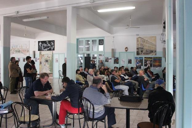 Il pubblico ha seguito interessato per tutte le tre ore della conferenza.