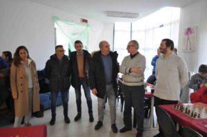 Le autorità comunali di Godiasco Salice Terme visitano il torneo.
