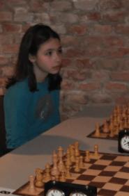 Sara Serban, vincitrice del primo premio Under 11.