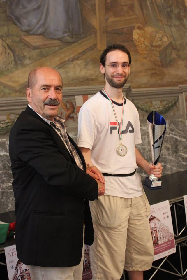 Clint Bosi, Vicecampione Italiano CM.