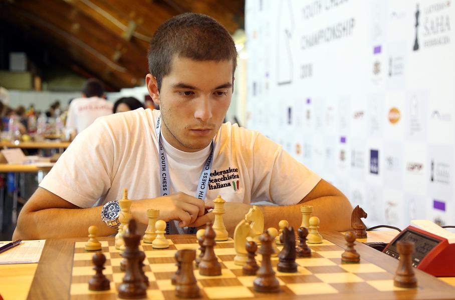 Francesco Sonis vince il titolo Europeo in Lettonia.