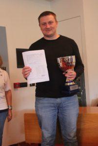 Vladimir Sveshnikov: primo posto e norma di GM.