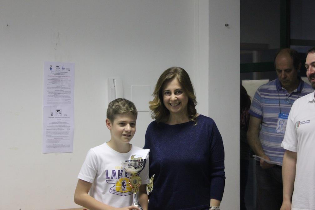 Federico Algeri Campione Under 16 e alle finali nazionali.