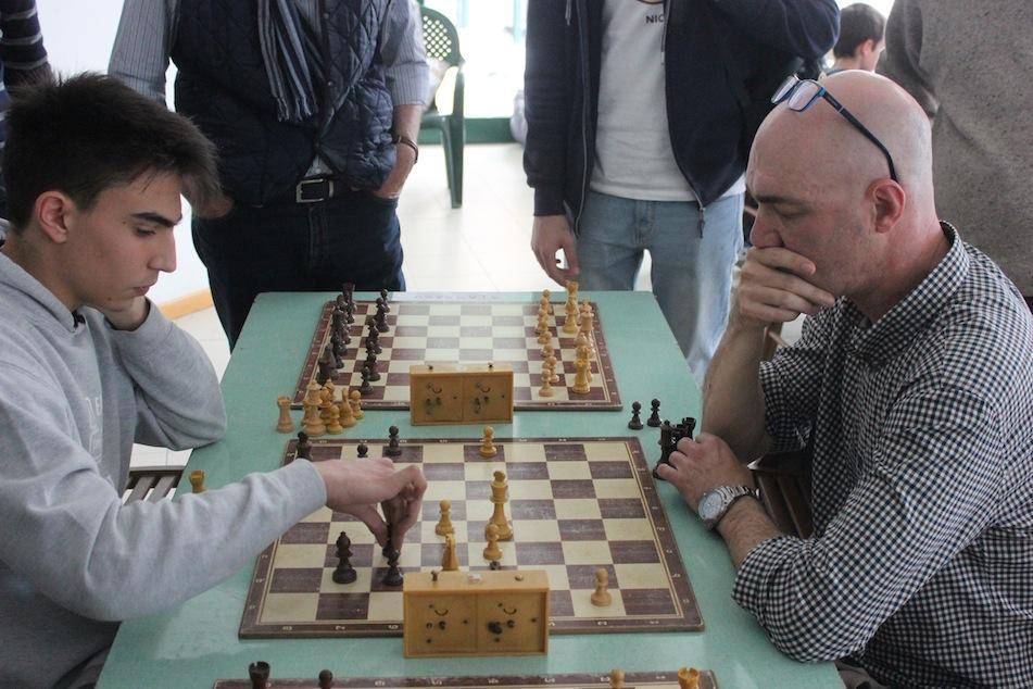 Lorenzo Modena in azione