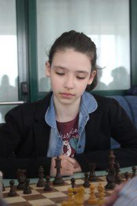 La Campionessa Italiana Under 10 Sara Serban.