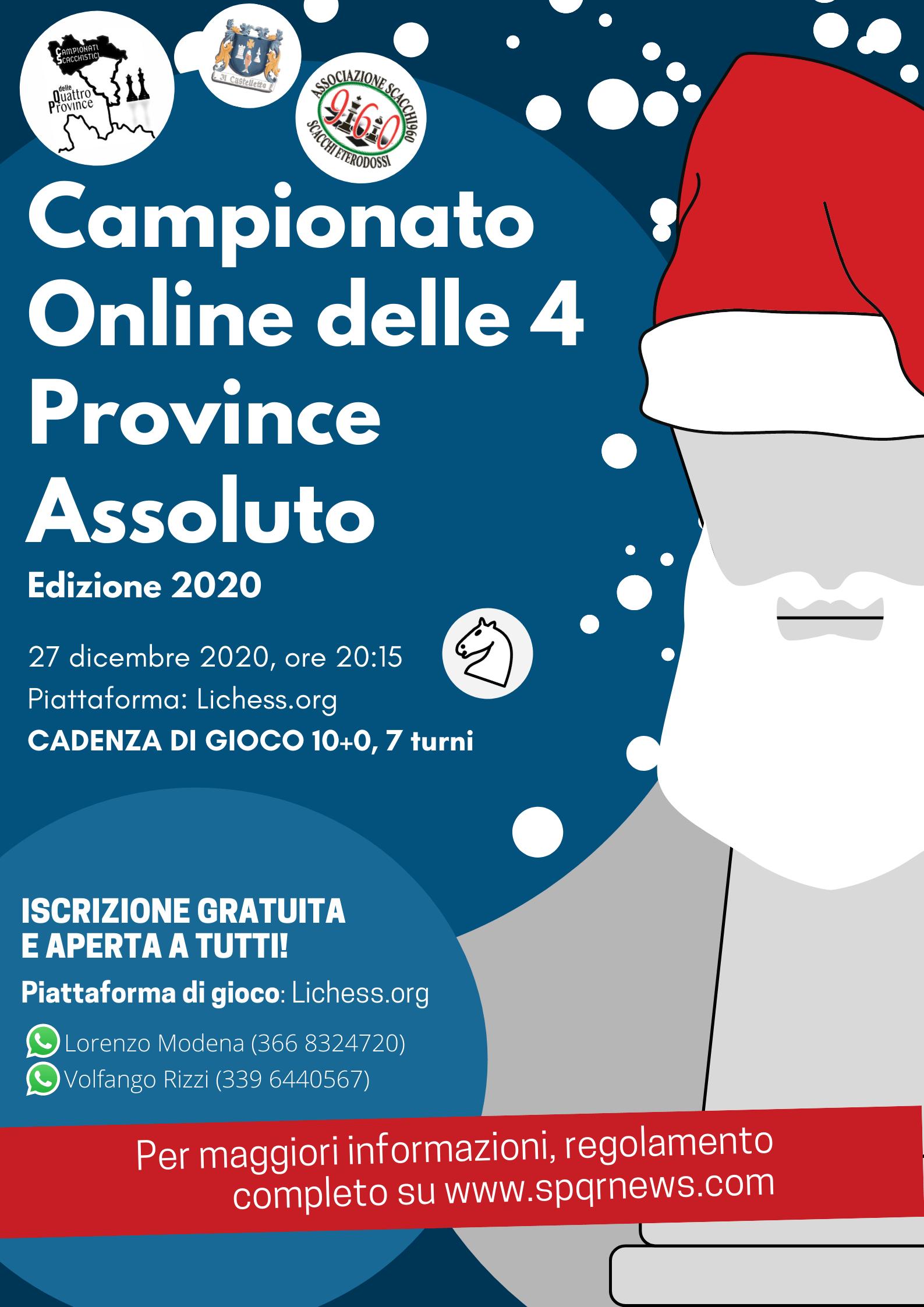 Campionato Online 4 Province-2
