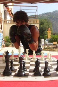 Il chessboxer siciliano Davide